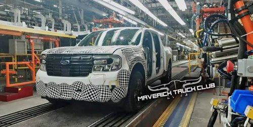Ford Small Pickup, Likely New Maverick, Begins Production