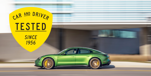 2020 Porsche Taycan 4S Achieved 180 Miles of Range in Our 75-MPH Highway Test