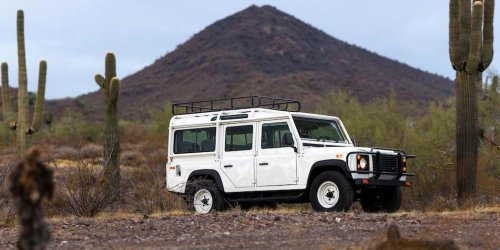 This Land Rover Defender 110 NAS Is One of the First in the States