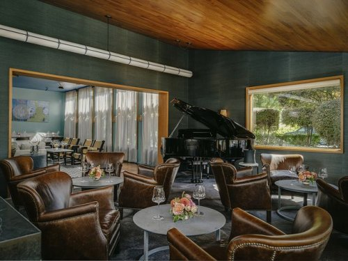 See Inside Thomas Keller's New Champagne and Caviar Lounge in Napa Valley
