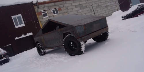 How does this DIY Cybertruck compare to Tesla's?