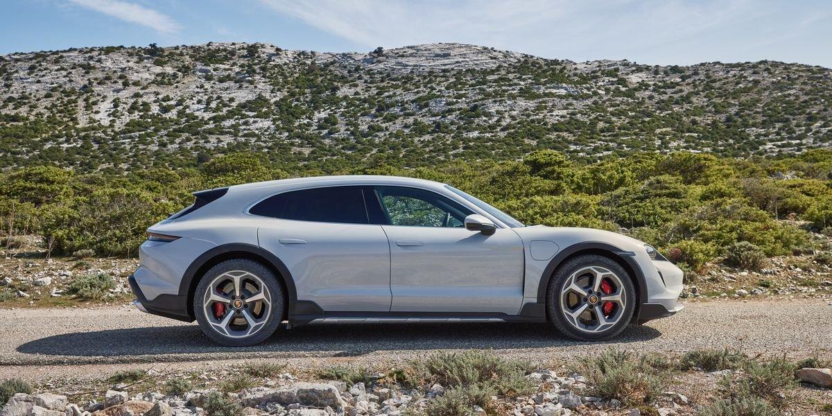 2021 Porsche Taycan Cross Turismo Revealed