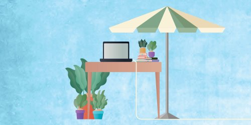 You're Going to Want to Work Outside This Summer—Here's How to Do It