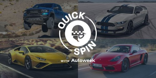 Take a Quick Spin in a Shelby GT350, Lamborghini, Ram TRX and Porsche Cayman