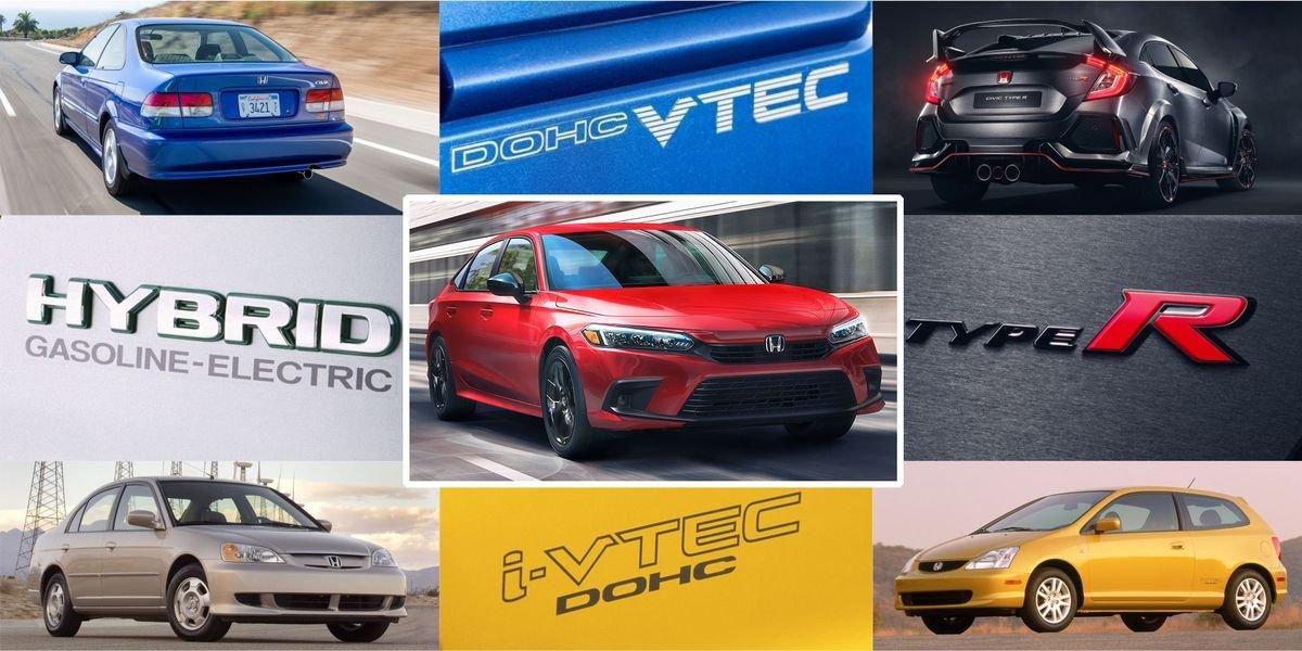 A Visual History of the Honda Civic