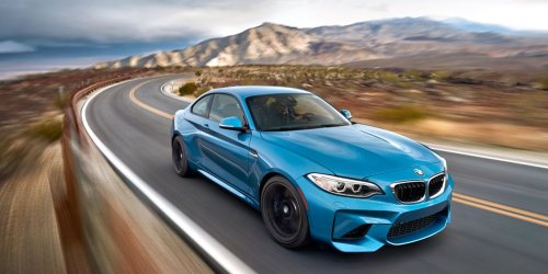 BMW M2 vs. Death Valley