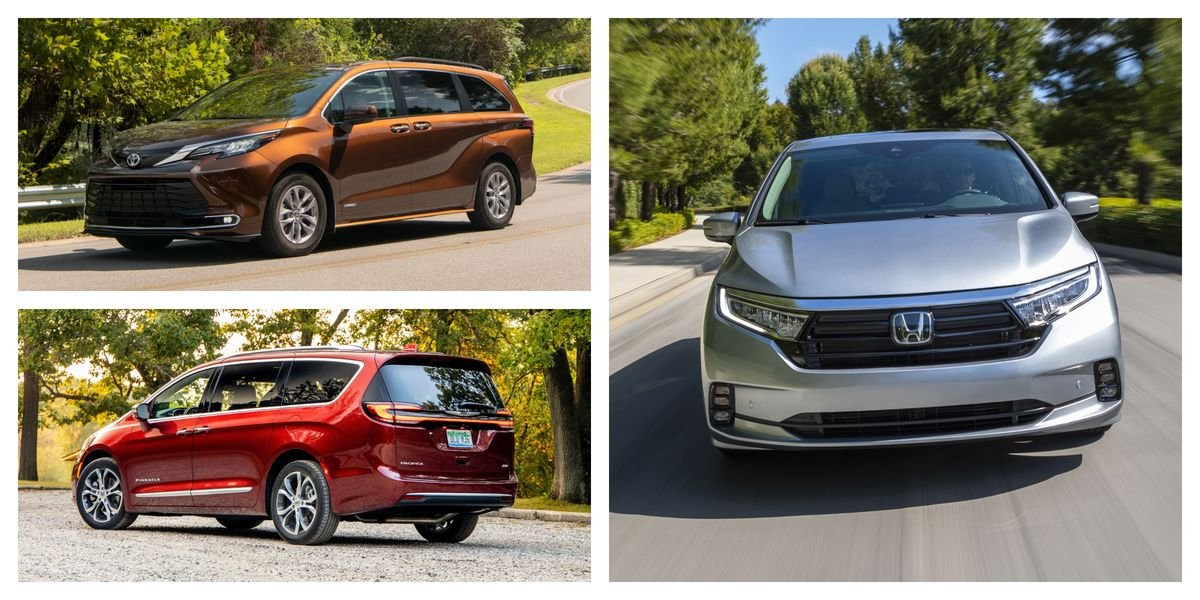 Every New 2021 Minivan Ranked from Worst to Best