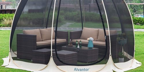 This Genius Mesh Pop-Up Tent Will Keep You Protected From Bugs This Summer