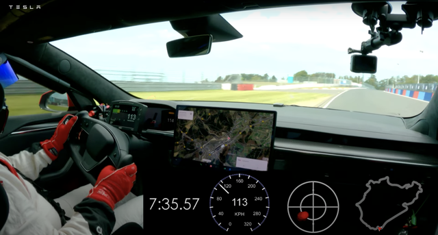 How Tesla Got Two Nürburgring Lap Times From the Same Lap