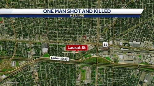 Man shot, killed in Metairie