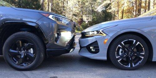 Would You Rather: Kia K5 GT-Line AWD or Toyota RAV4 Hybrid XSE?