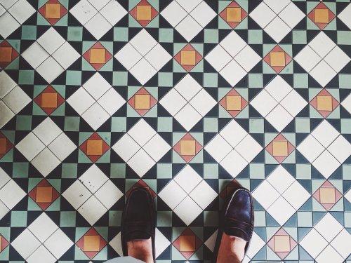 The best hallway floor tile inspo on Instagram right now