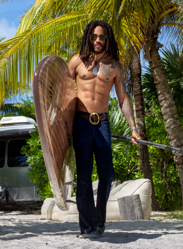Lenny Kravitz - age 56, ripped and (still) ready to rock