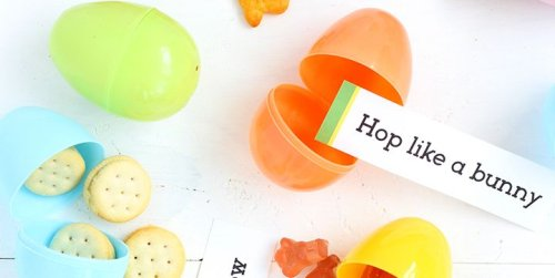 This Clever Indoor Easter Idea Combines an Egg Hunt With Charades