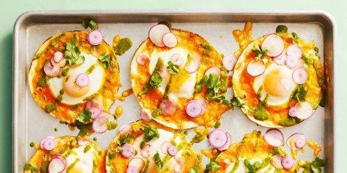 Sheet Pan Egg Tacos