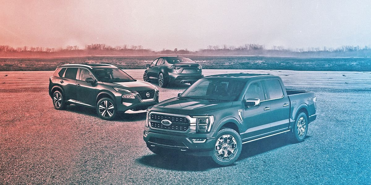 Top 25 Best-Selling Cars, Trucks, and SUVs of 2021 (So Far)