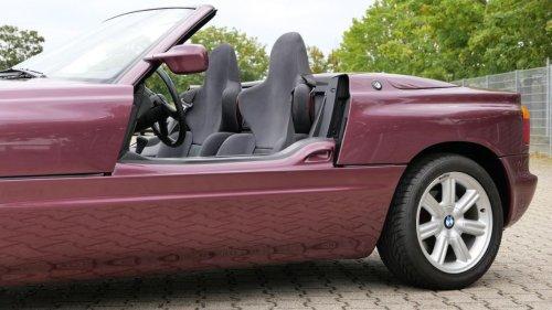 No, this futuristic BMW wasn't a concept car
