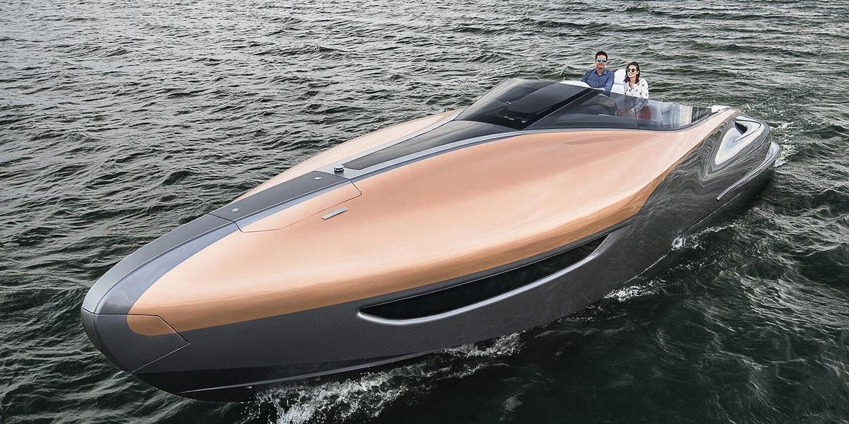 Because every Lexus owner needs a complementary yacht