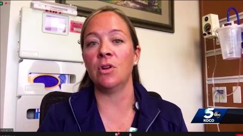 Oklahoma nurse explains why she's decided to get COVID-19 vaccine as delta variant spreads