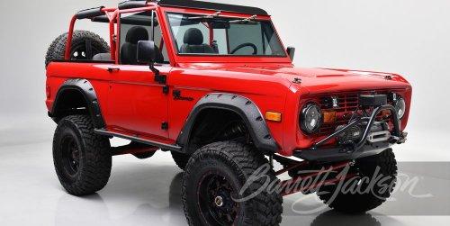 Este espectacular Ford Bronco modificado por Kevin Hart sale a subasta