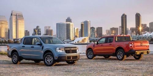 2022 Ford Maverick Is a Pickup Priced Like a Compact Car