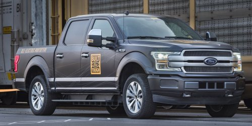 First Look at the Electric Ford F-150's Frunk