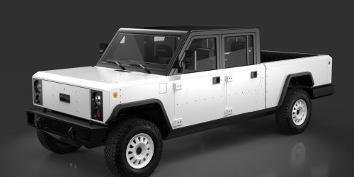 Bollinger Reveals More of Production-Intent Electric Pickup and SUV