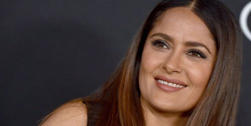 Salma Hayek's 14-Year-Old Daughter Walked The Eternals Red Carpet In A Saint Laurent Dress