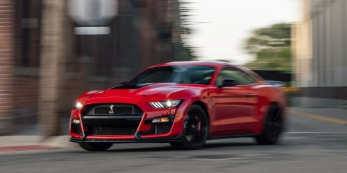 Tested: 2020 Ford Mustang Shelby GT500 Hauls Even on Street Tires