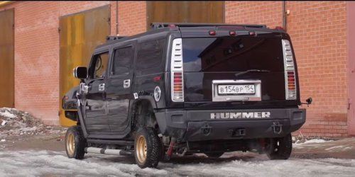 This Teeny-Wheel Hummer Is Worth at Least One Solid Chortle