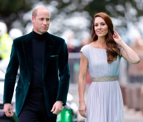 Prince William and Kate Middleton just shared a rare behind-the-scenes PDA pic