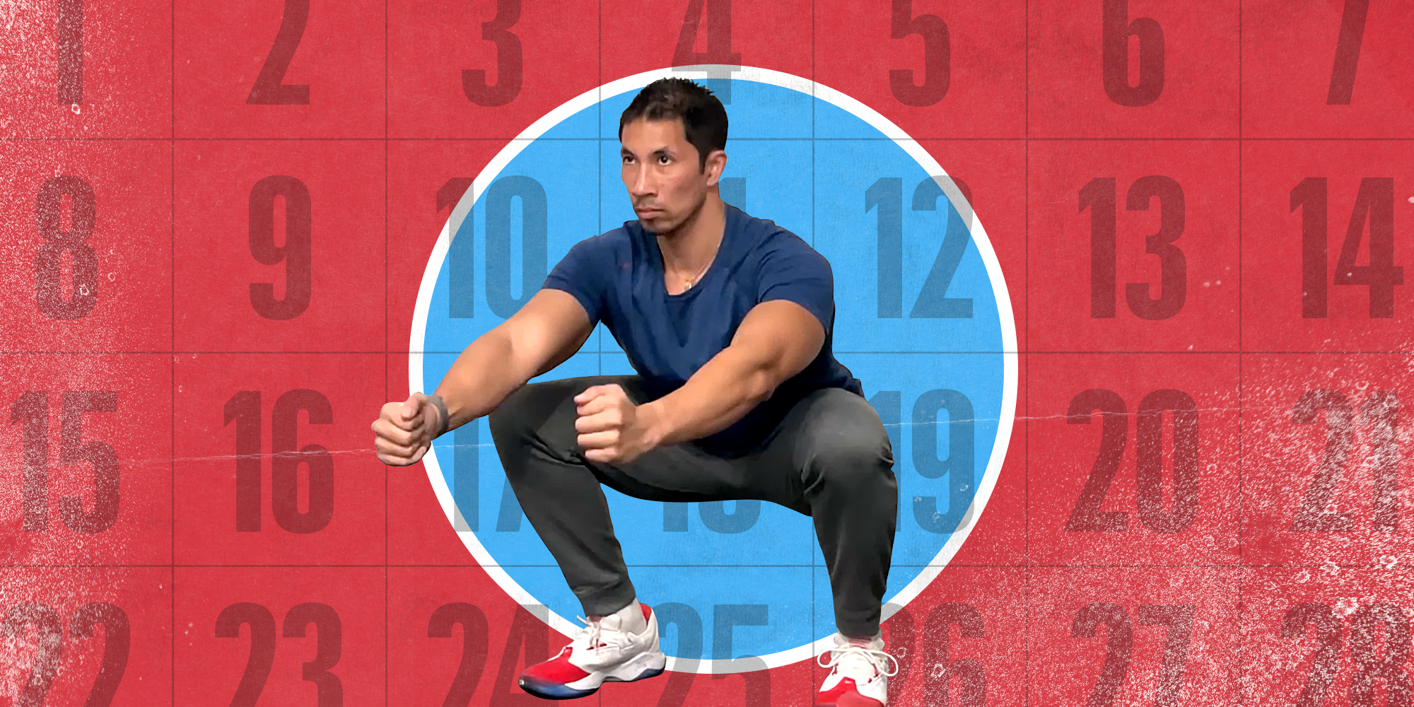 The Men's Health 30-Day Workout Challenge