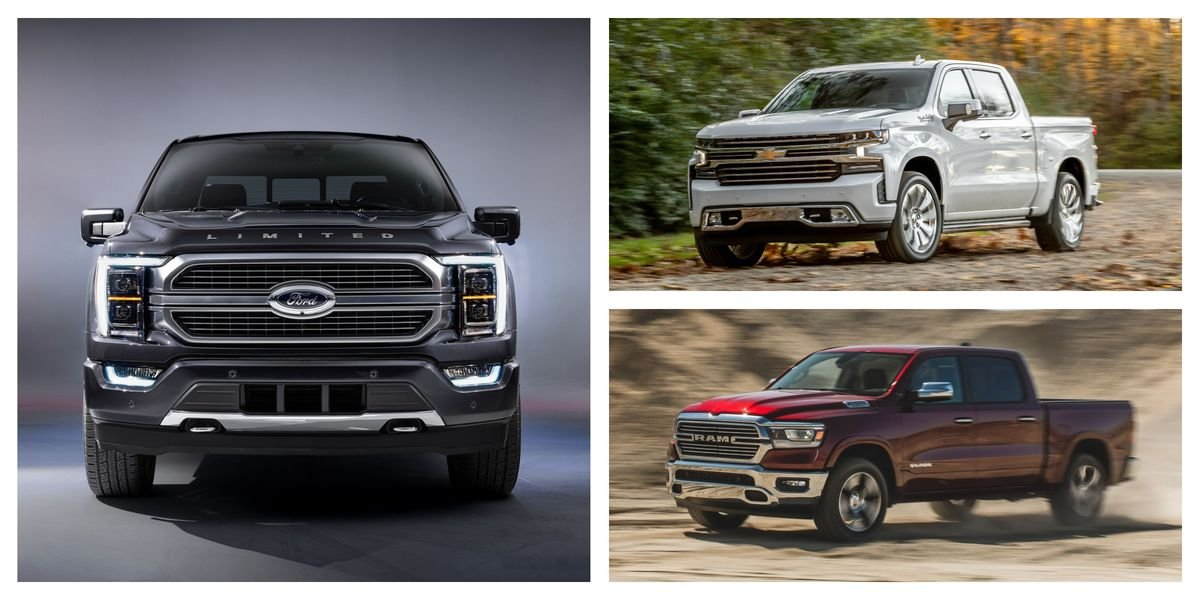 Every 2021 Full-Size Pickup Truck Ranked