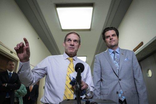 Matt Gaetz and Jim Jordan Put on a Clown Show in the United States Congress