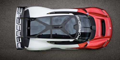 Could the All-Electric Mission R Concept Be the Future of the Porsche Cup?