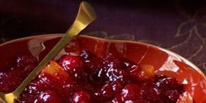 Gingered Cranberry-Apricot Sauce