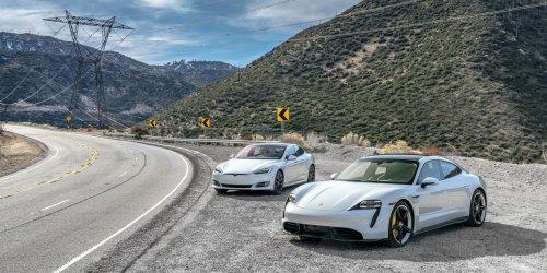 Porsche Taycan vs. Tesla Model S: The Test