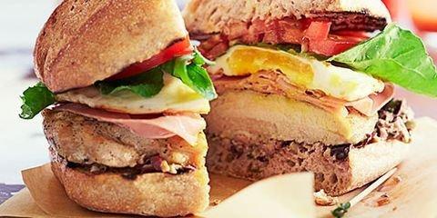 Chicken Chivito Sandwich