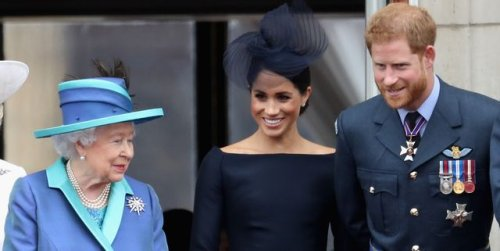 """Prince Harry and Meghan Markle's Relationship With the Queen Is """"as Strong as Ever,"""" Royal Biographer Says"""