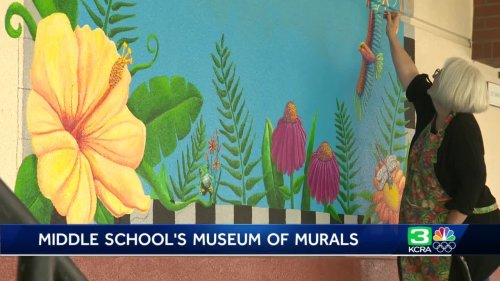 How an Elk Grove Unified school is inspiring students — with murals