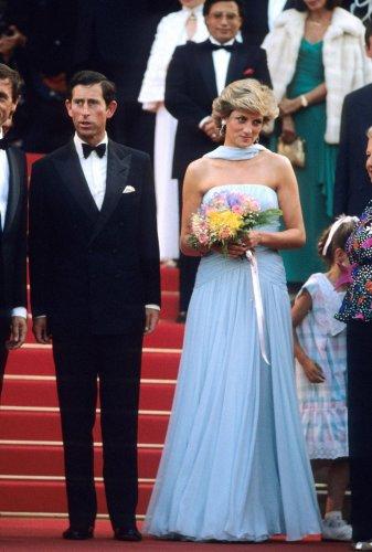 La favola dell'abito azzurro di Lady Diana a Cannes 1987