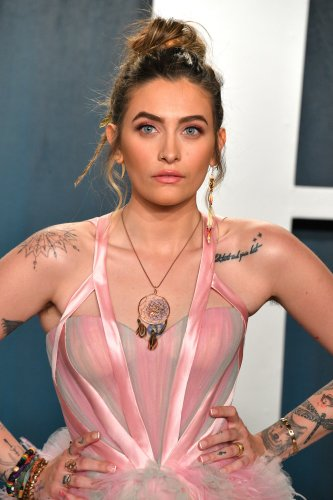 Paris Jackson Worked New Turquoise Highlights