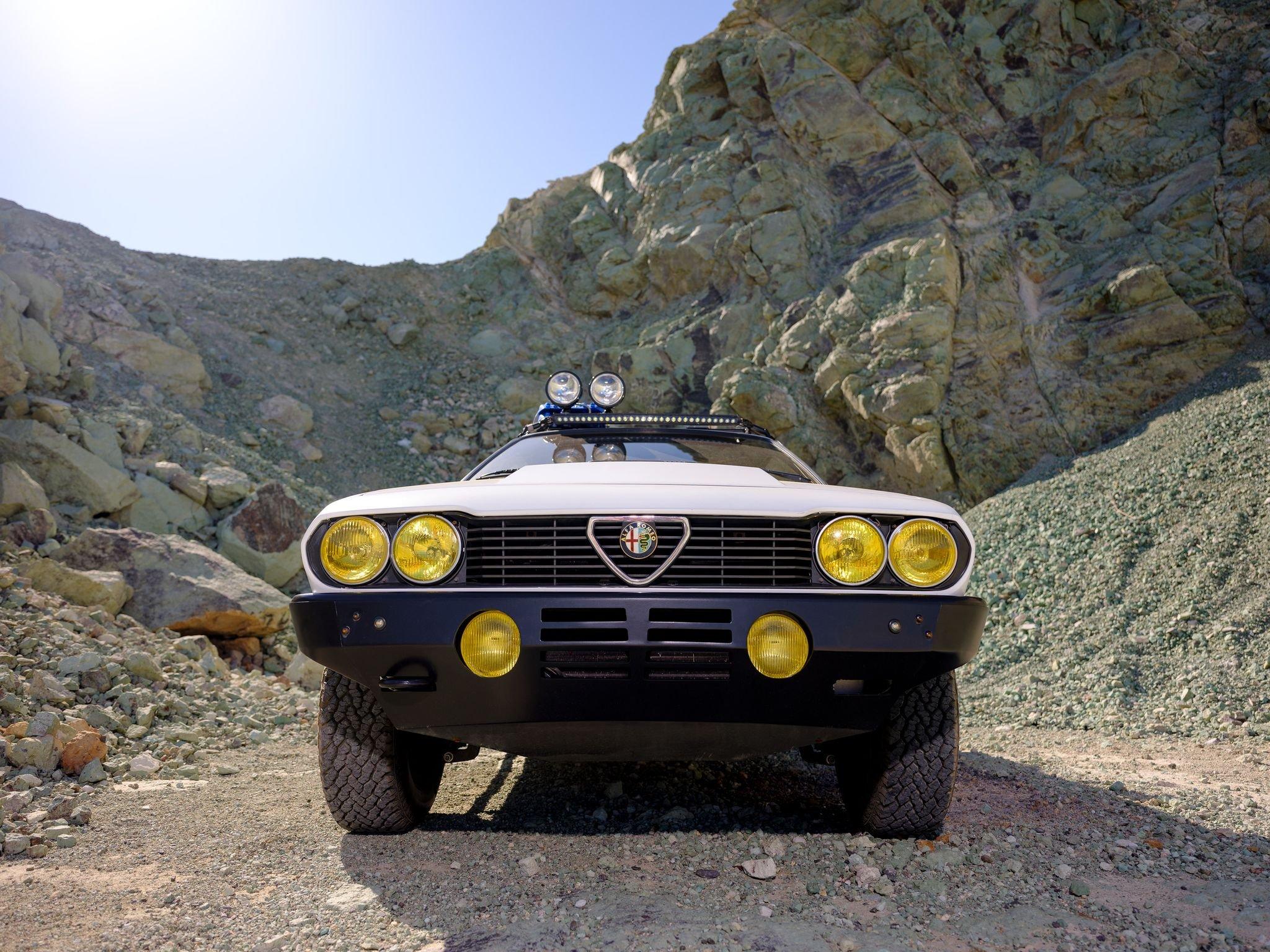 An Alfa Romeo GTV6 Is the Unlikeliest Safari Rig
