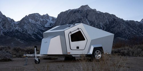 Polydrops P17A Is an Off-the-Grid Trailer for EV Towing, Camping
