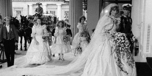 Rare Photos from Princess Diana and Prince Charles' wedding