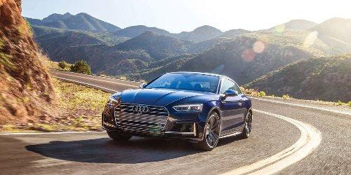 Audi S5 on Coronado Trail