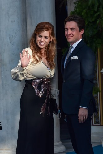 Princesses Beatrice and Eugenie attend royal wedding in Greece