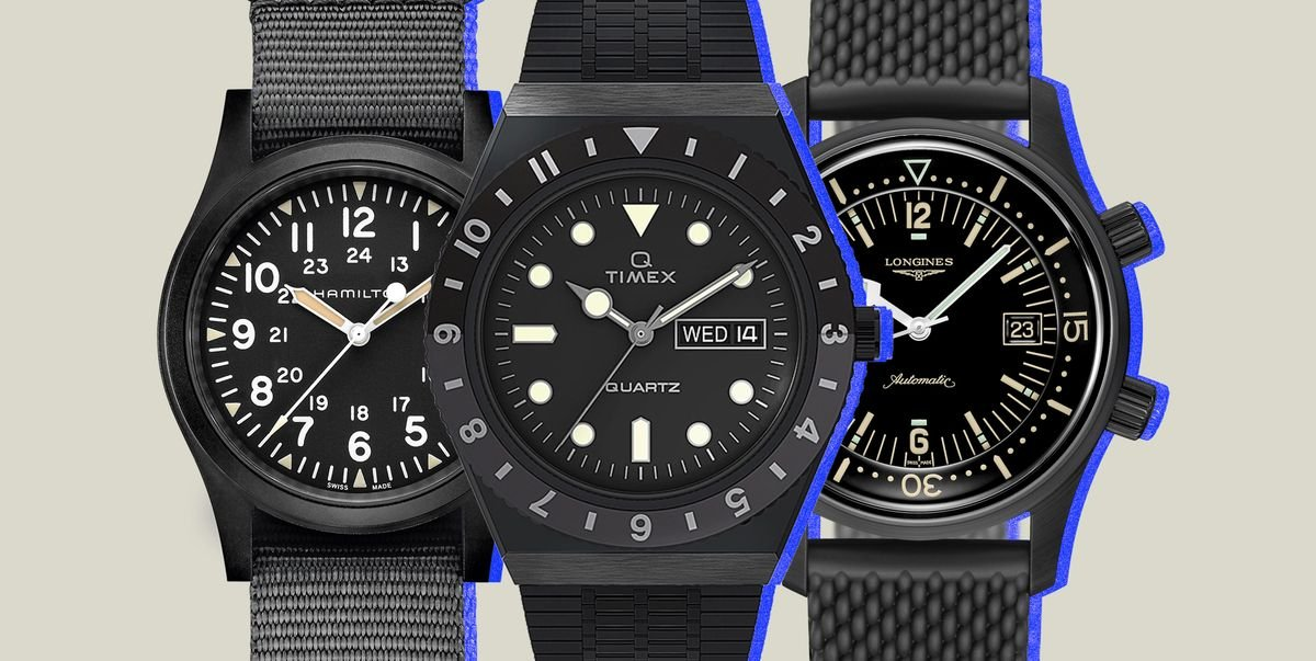 The 10 Best All-Black Watches