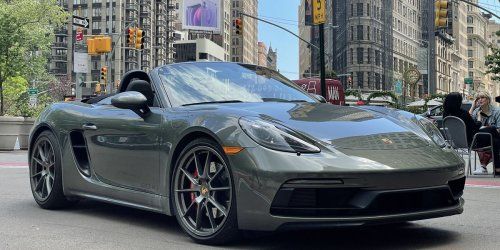 The Porsche 718 Boxster GTS 4.0 Could Be the Perfect Roadster