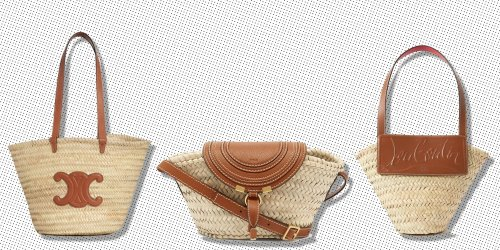 40 Of The Best Straw Bags To Take To The Park In Summer 2021